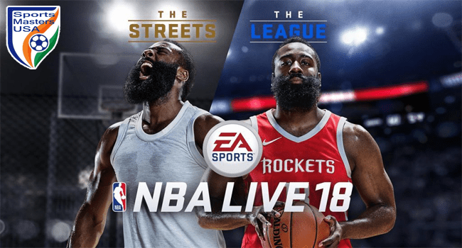 game basketball PC NBA Live 18.
